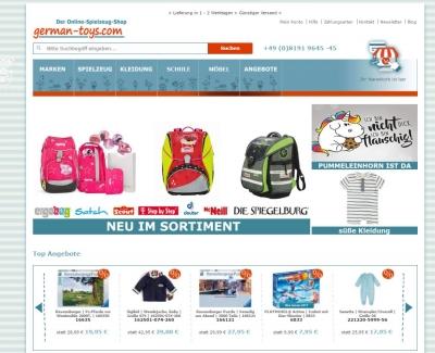 Onlinehandel - www.german-toys.com