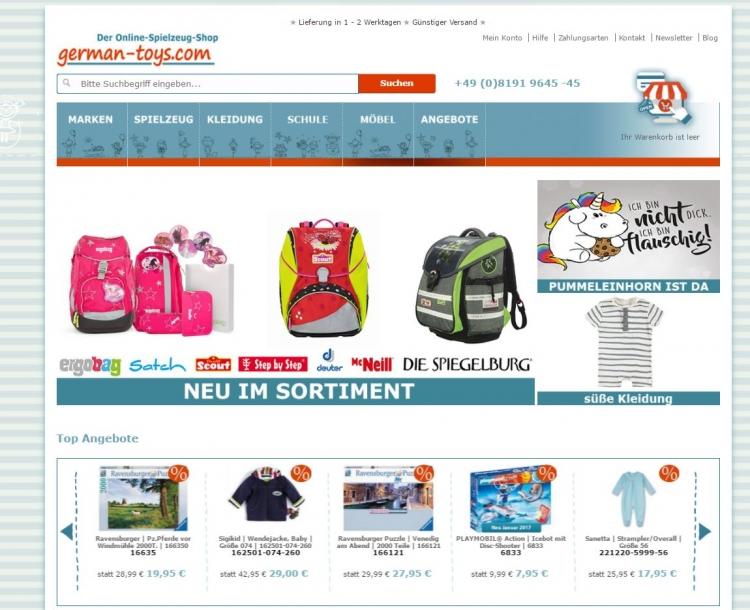 Onlinehandel - www.german-toys.com_EN